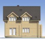 проект дома из бруса SDn-537 2