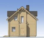 проект дома из бруса SDn-537 3