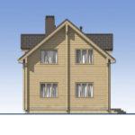 проект дома из бруса SDn-537 5