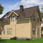 проект дома из бруса SDn-537 9