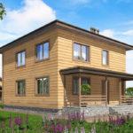проект дома из бруса SDn-540 10