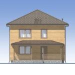 проект дома из бруса SDn-540 3