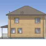 проект дома из бруса SDn-540 4