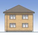 проект дома из бруса SDn-540 5