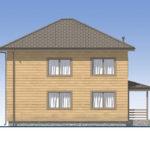 проект дома из бруса SDn-540 6
