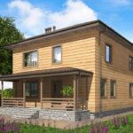 проект дома из бруса SDn-540 7