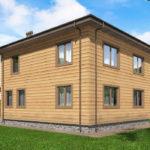 проект дома из бруса SDn-540 8