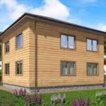 проект дома из бруса SDn-540 9