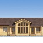 проект дома из бруса SDn-565 2