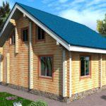 проект дома из бруса SDn-922 1