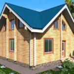 проект дома из бруса SDn-922 4