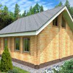 проект дома из бруса SDn-933 2