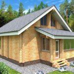 проект дома из бруса SDn-933 4