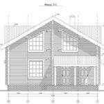 проект дома из бруса SDn-935 6