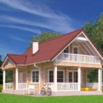 проект дома из бруса SDn-936 1