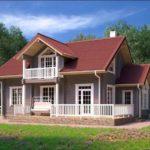 проект дома из бруса SDn-938 3