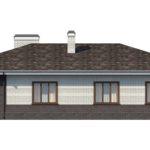 проект дома из керамоблока SDn-154 2