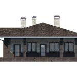 проект дома из керамоблока SDn-154 3