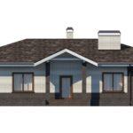 проект дома из керамоблока SDn-154 6
