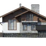 проект дома из керамоблока SDn-297 5