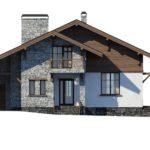 проект дома из керамоблока SDn-297 8