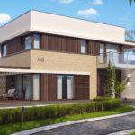 проект дома из керамоблока SDn-312 3