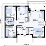 проект дома из керамоблока SDn-313 7