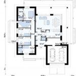 проект дома из керамоблока SDn-318 11