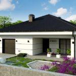 проект дома из керамоблока SDn-364 1