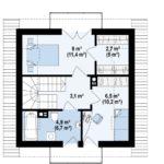 проект дома из керамоблока SDn-378 3