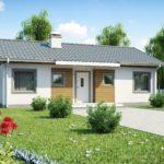 проект дома из керамоблока SDn-382 2