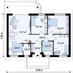 проект дома из керамоблока SDn-382 7