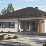 проект дома из керамоблока SDn-394 2