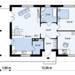 проект дома из керамоблока SDn-395 7