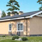проект дома из керамоблока SDn-571 1