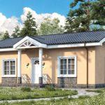 проект дома из керамоблока SDn-571 2