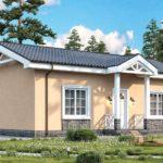 проект дома из керамоблока SDn-571 3