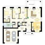 проект дома из керамоблока SDn-822 2
