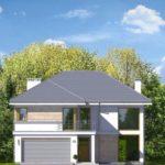 проект дома из керамоблока SDn-825 9