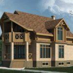 проект дома из кирпича SDn-101 3