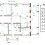 проект дома из кирпича SDn-153 1