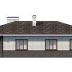 проект дома из кирпича SDn-153 3