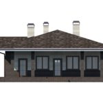 проект дома из кирпича SDn-153 4