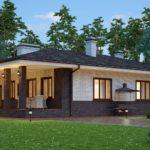 проект дома из кирпича SDn-153 6