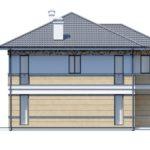 проект дома из кирпича SDn-164 6