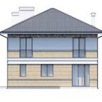 проект дома из кирпича SDn-164 8