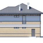 проект дома из кирпича SDn-164 9