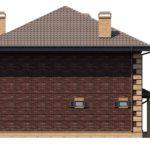 проект дома из кирпича SDn-196 7