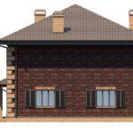 проект дома из кирпича SDn-196 8