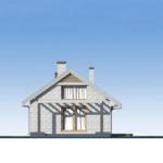 проект дома из кирпича SDn-535 3
